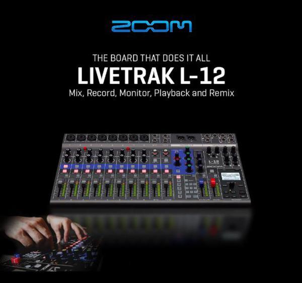Zoom Livetrack Series L-12