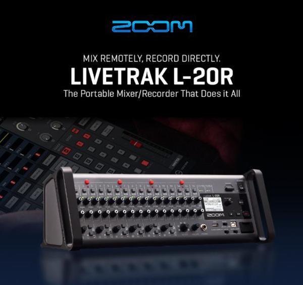 Zoom Livetrack Series L-20 R