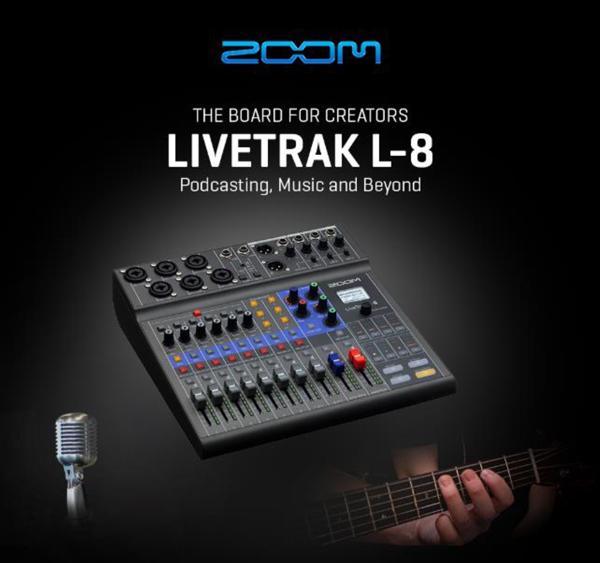 Zoom Livetrack Series L-8