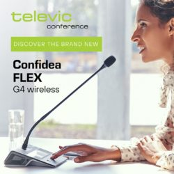 Televic Confidea Flex G4 Wireless