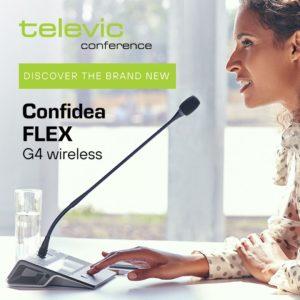 Televic Confidea Flex G4 Wireless
