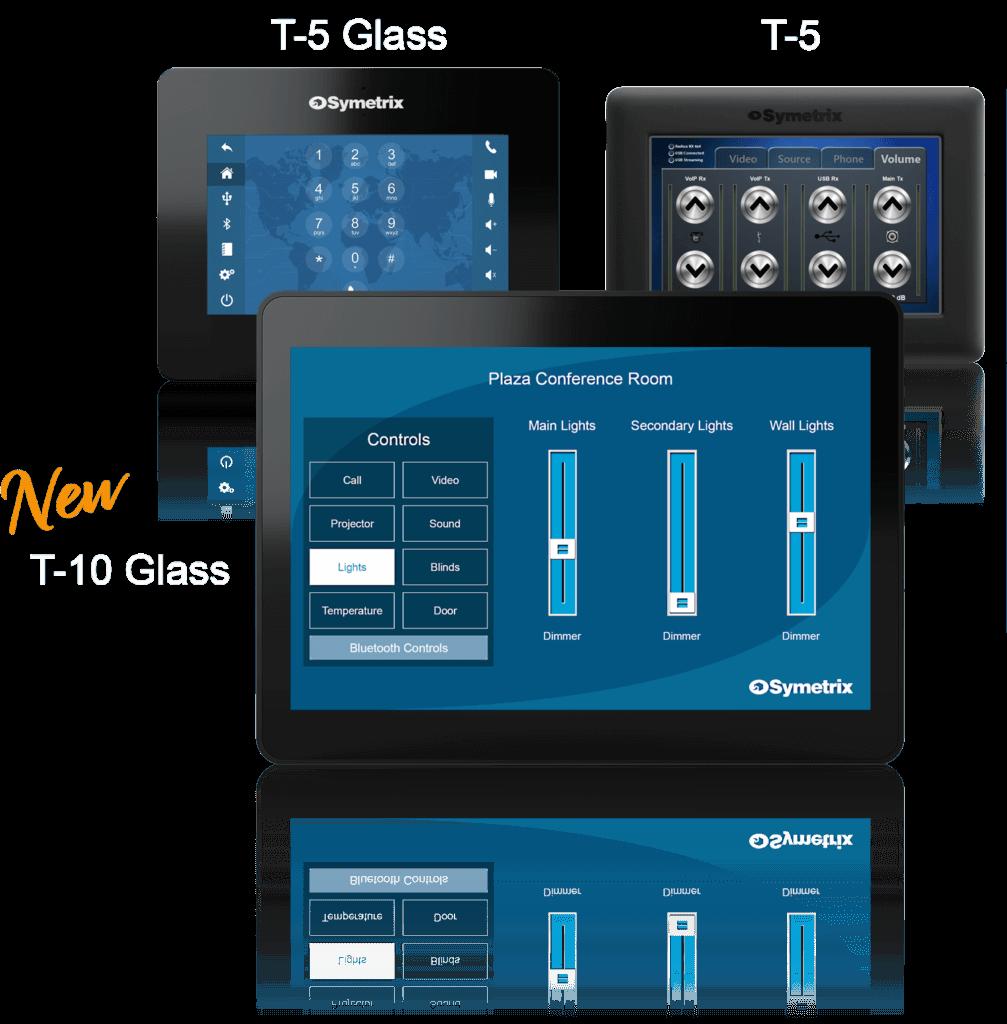 Symetrix Touchscreens
