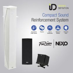 Nexo ID 24 - Compact Sound Reinforcement System