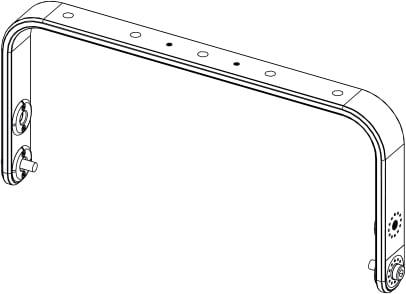 Horizontal mounting bracket
