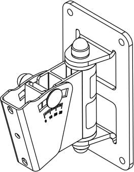 Variable Angle wall mount