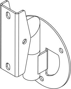Light Weight wall mount