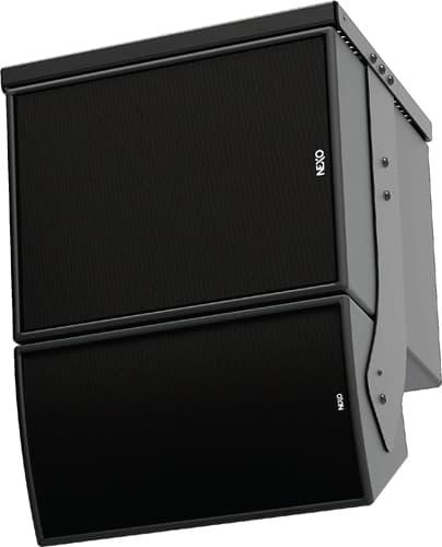 Dedicated sub bass cabinets